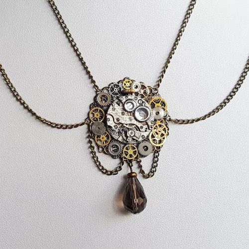 Steampunk-Drape-Necklace